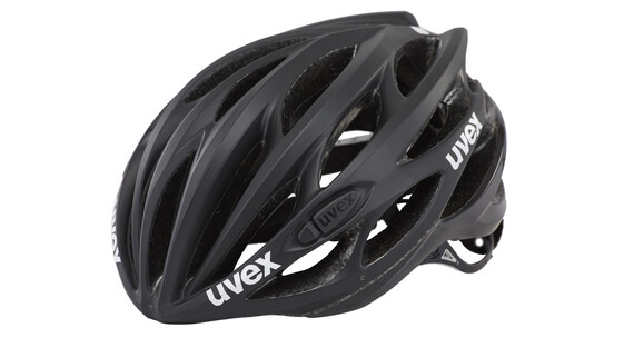 UVEX race 1 Helmet black mat-shiny